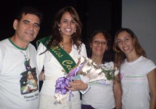 Espedito e Vanessa Vidal, Vera e Juliana Coelho