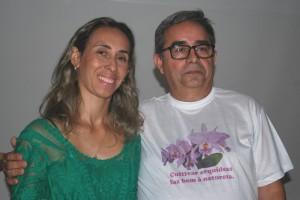 Novos presidente e vice-presidente: Thomaz e Juliana.