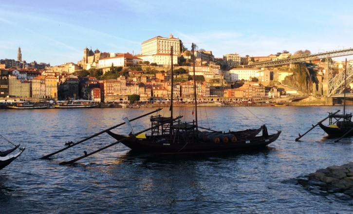 Porto vista a partir de Vila Nova de Gaia. (Foto: I. Gurgel)