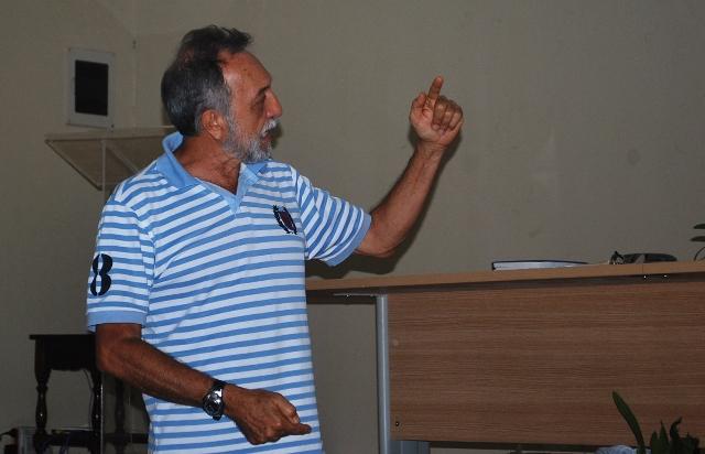 Hugo Leite, diretor técnico da Associação Paraibana de Orquidófilos-APO