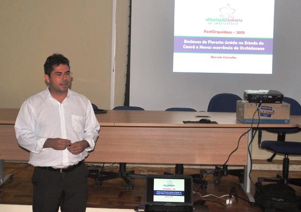 Marcelo Carvalho, diretor técnico-científico da Associação Cearense de Orquidófilos-ACEO