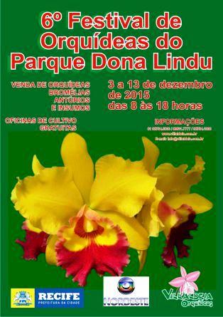 Cartaz - Parque Dona Lindu 2015b