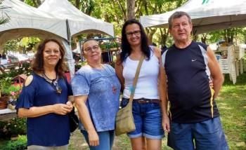 Presença da ACEO: Vera, Ivelise, Kalina e Rogério.