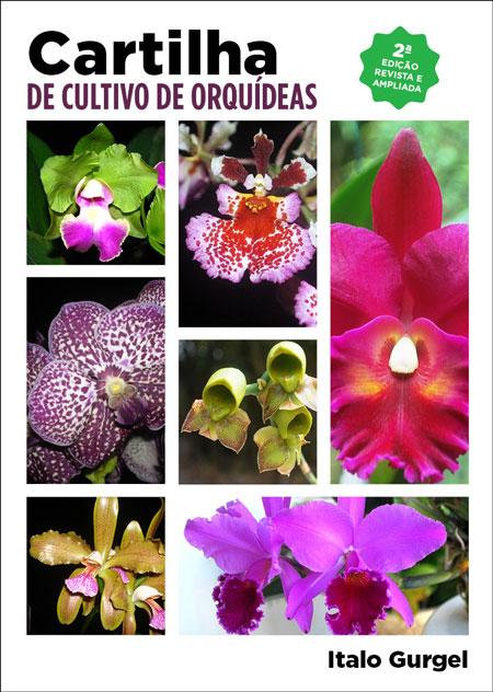 Capa Cartilha de Cultivo de Orquídeas