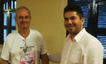 Francisco Juvêncio (esq.) e Marcelo Carvalho, diretor técnico da ACEO.