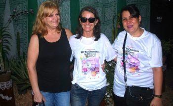 Elas vieram de longe para enriquecer a ACEO: Stella Rubo, Teresa Tobella e Yanisney Martinez