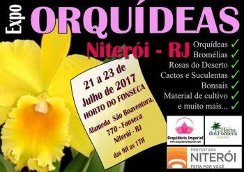 Exposição de orquídeas em Niterói